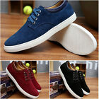 Men's leather casual fashion sneakers lace casual shoes large shoes Plus Size