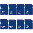 16MB 32MB 64MB 128MB 256MB 512MB 1GB 2GB SD Secure Digital Flash Memory Card New