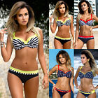 Women Sexy Bandage Bikini Set Push-up Padded Swimwear Swimsuit Bathing Beachwear