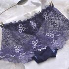 New Women Embroidered Lace Cotton Panties Briefs Knickers Underwear