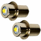 2-Pack High Power Upgrade Bulb 3W LED 100LM for Porter Cable 90534275 Flashlight