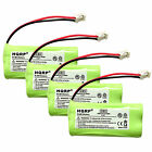 4-Pack Cordless Telephone Battery for VTech BT183348 / BT283348 Replacement