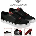 Mens Creative Recreation CR040L983 Cesario Lo XVI Black,Red Lifestyle Casual