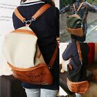 Women's 2 in 1 Fashion Shoulder Bag and Backpack Girl's Canvas CYBD01