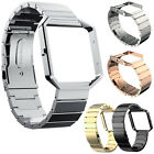 Hot! Stainless Steel Straps Wristwatch Band For Fitbit Blaze Tracker& Frame Case