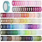"Satin Ribbon 25 50 Yard Roll 1/8"" 1/4"" 3/8"" 5/8"" 3/4"" 1"" 3/2"" 2"" Wholesale Lots"