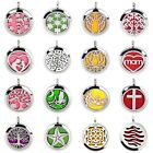 316L Steel Aromatherapy Essential Oil Diffuser Pendant Locket Wave Wing Dolphins on eBay