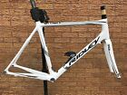 Ridley Orion Carbon Road Bike Frameset White Ex Display