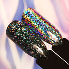 Born Pretty Nail Sequins Galaxy Holo Flakes Bling Laser Glitter Powder Dust Tips