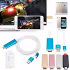 2M 8Pin Lightning to HDMI HDTV Cable Adapter For iPhone 7 7 Plus 6 6S 5 5S iPad
