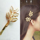 Fashion Cute Women Gold Silver Geometry Moon Hairpin Hair Clip Hair Accessories