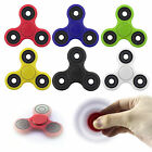 Hot Tri-Spinner Fidget Hand Finger Focus Toy EDC Pocket Desktoy ADHD White&Blue