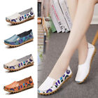 Women's Casual Leather Shoes Lazy Peas Loafers Flats Driving Walking Moccasin