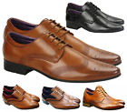 Kyпить New Mens Leather Lined Italian Casual Formal Brogues Office Wedding Shoes Boots на еВаy.соm