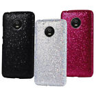 For Motorola Moto G5 G5Plus Bling Sparkle PU Coated Design hard case cover