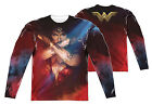 "Wonder Woman Movie ""Arms Crossed"" Dye Sublimation Double Sided Long Sleeve Tee"