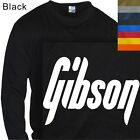 LONG SLEEVE T-SHIRT GRAPHIC TEE  GIBSON GUITAR ROCK #04 (S to 4X PLUS)