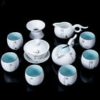 complete tea set porcelain/yixing zisha tea pot kungfu teaset ceramic gaiwan cup