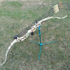 """48"""" Kids Archery Recurve Bow 20lbs Junior Youth Training Hunting Bow Camo"""