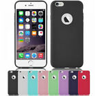APPLE IPHONE 7 PLUS 5.5 COVER CUSTODIA MORBIDA SILICONE TPU SLIM LOGO