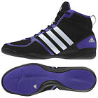 Adidas Mens Boxfit 3 Boxing Boots - New Stripe Sport Trainer Shoes Boxer Fighter