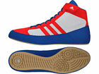 Adidas Wrestling Kids Havoc Boots / Shoes - Red/White/Blue - AQ3324Z