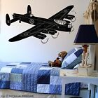 Avro Lancaster Heavy Bomber Aircraft Wall Art Vinyl Sticker RAF War Plane Decal