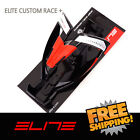 Elite Custom Race Plus Water Bottle Cage Bike - Black Red