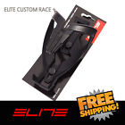 Elite Custom Race Plus Water Bottle Cage Bike - Black Black