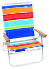 RIO SC6021508OG/1603O Easy In-Easy Out Beach Chair, 35-3/4 in H x 24-1/2 in W x