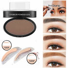 Natural Eyebrow Shadow Definition Makeup Brow Stamp Powder Palette Delicated DYN