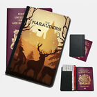 HARRY POTTER THE MARAUDERS Passport Holder Travel  Protection Flip Cover Case