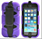 Heavy Duty Hybrid Rugged Survival Cases+Built-in Screen For iPhone 5/5s