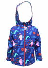 Peppa Pig Boys Soft Shell Fleece Lined Hooded Jacket Coat
