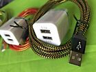 New 6ft Fast Charging Kit Usb Data Sync  Charger Cable For Android Smartphones