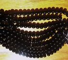 YOUR CHOICE: QUALITY GRADE A NATURAL BLACK ONYX ROUND STONE BEADS 4MM -- 8MM!!!