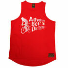 Adventure Before Dementia RLTW MENS DRY FIT VEST singlet cycling birthday gift