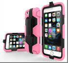 Heavy Duty Hybrid Rugged Survival Case Cover+Built-in Screen For iPhone 6/6s