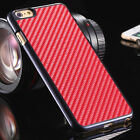 New Luxury Ultra-thin Carbon Fiber Hard Back Case Cover For iPhone 6/6s+Gift Box