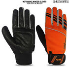 Bikers Cold Weather Gloves Motorbike Winter Scooter Riding Touch Screen Gloves