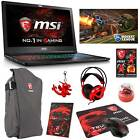 "MSI GS63VR Stealth Pro-422 15.6"" Core i7-6700HQ GTX 1060 (6GB) Gaming Laptop"