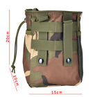 Small Military Molle Tactical Magazine Pocket DUMP Ammo Drop Utility Pouch bag