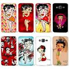 Coque Dur Betty Boop Clair Case Samsung GalaxyJ1 J2 J3 J5 J7 $7.56 CAD