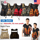 Внешний вид - Kayak Canoe Sailing Fishing Life Jacket Buoyancy Aid w/ Whistle