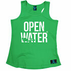 OW Diver Bold Text Open Water WOMEN DRY FIT VEST singlet birthday scuba diving