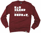 Eat Sleep Run Repeat SWEATSHIRT birthday funny fashionrunning runner
