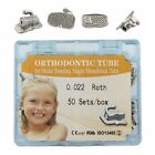 200pcs Dental Orthodontic Buccal Tubes Monoblock 1st 2nd Molar MBT ROTH 022 Tube