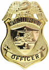 Tactical 365 Security Officer Shield Badge | Gold or Nickel