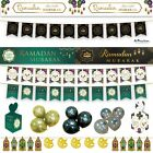 *Premium* RAMADAN DECORATIONS Banner Party Flags Buntings Gift Balloons Gold