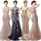 Beaded Women Prom Formal Dresses Long Party Evening Ball Pageant Gown Wedding